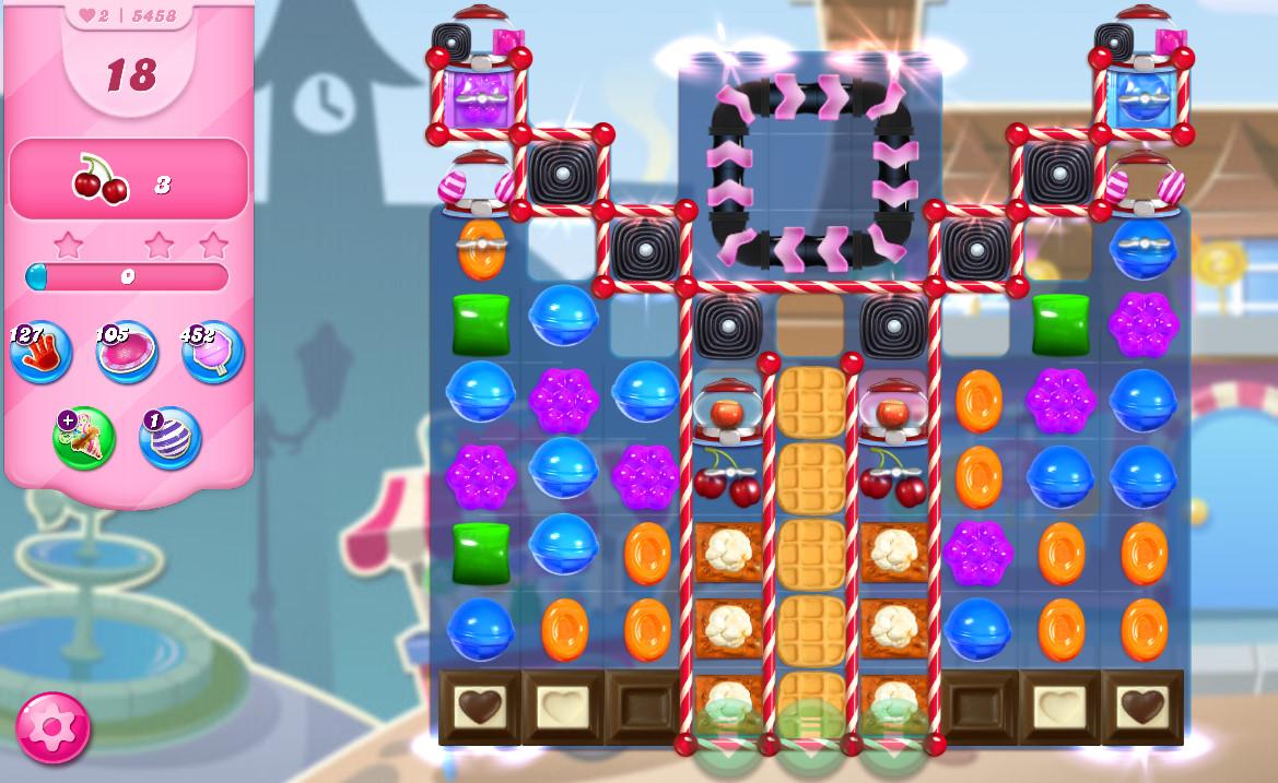 Candy Crush Saga level 5458