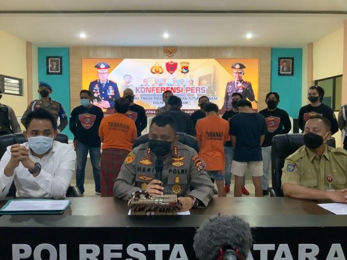 Kurang dari 24 Jam, Polisi Berhasil Ungkap Pencurian Besi Proyek Disperkim