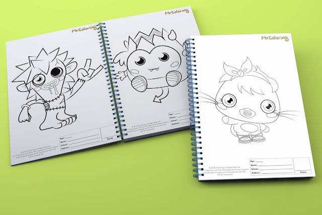 printable Scary  moshi monster poppet zommer diavlo template outline coloriage Character Blank coloring pages books pdf pictures to print out for kids to color page preschool