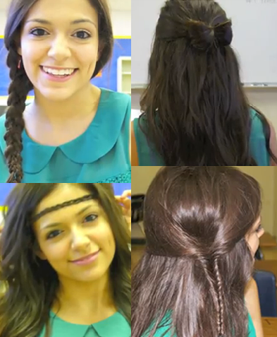 Strange 4 Quick And Easy Back To School Hairstyles Short Hairstyles Gunalazisus