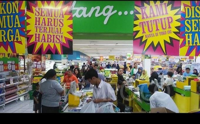 Penutupan Beberapa Gerai Giant di Surabaya