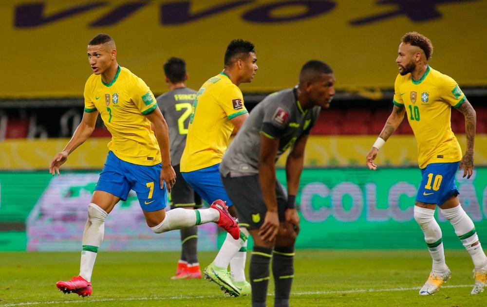 تعرف على موعد مباراة البرازيل ضد الاكوادوروالقنوات الناقلة لها