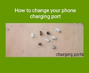 How to change charging port