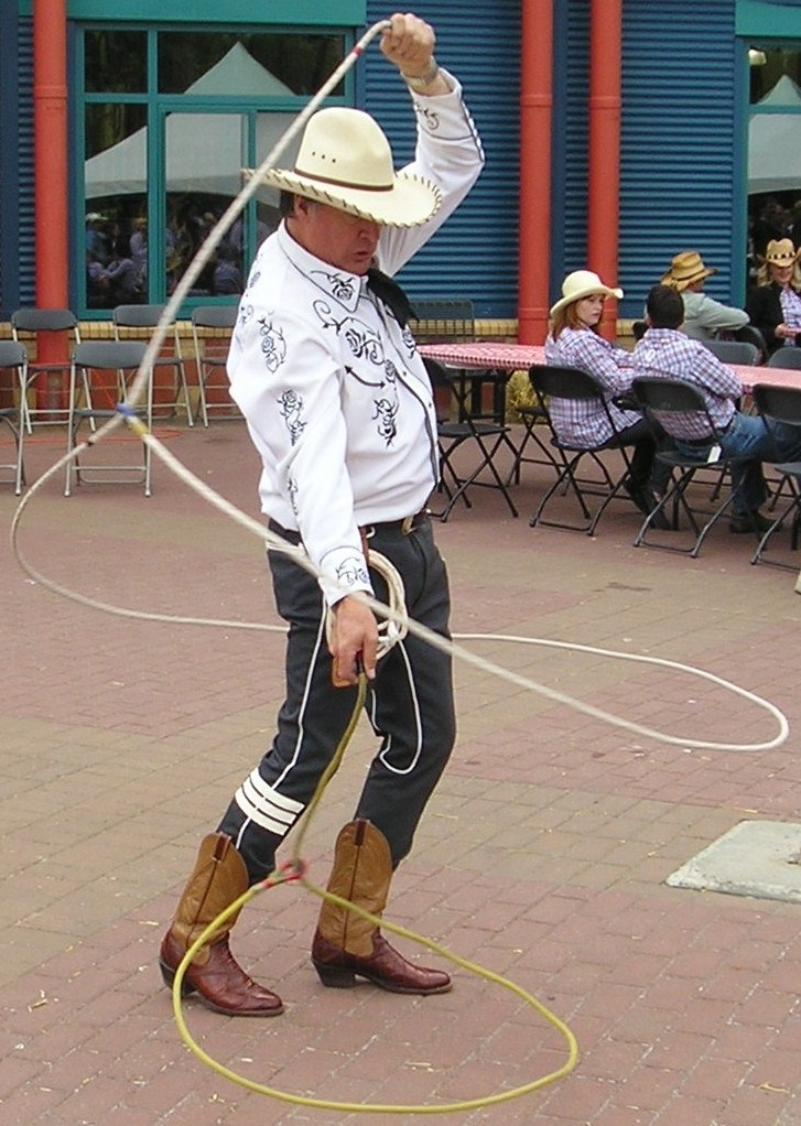 Comedy Cowboy Trick Roping Pictures