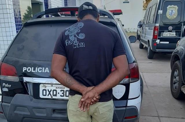 Homem é preso em Timon após estuprar a enteada de 7 anos na cidade de Teresina