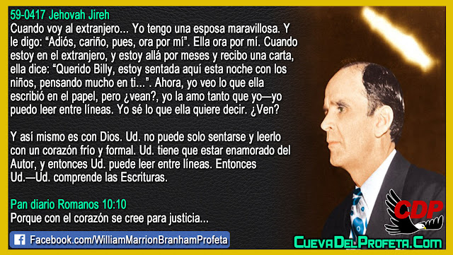 Como entender la Biblia - Citas William Marrion Branham Mensajes