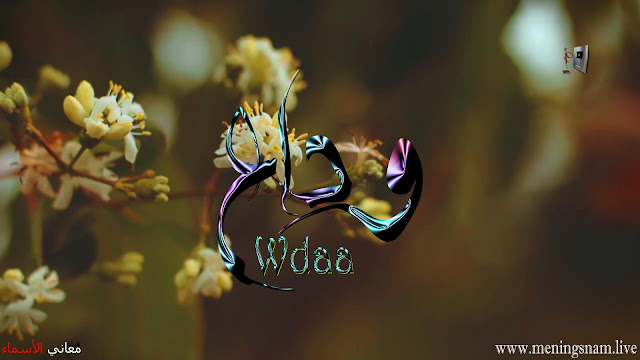 معنى اسم وداع وصفات حاملة هذا الاسم Widae