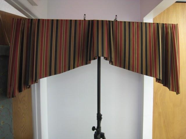 Leatherwood Design Co Tapered Box Pleat Valance