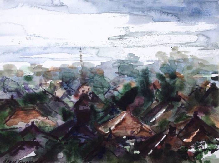 Российский художник. Nadya Lesnaya