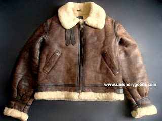 47502b148 Vintage B3 Bomber Jacket Leather Shearling by Hanai, in size L ...