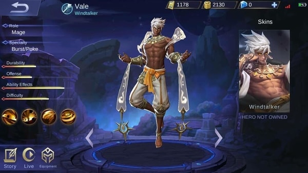 Vale Overview, Skills, and Gameplay