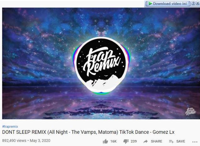download lagu all night no sleep tiktok