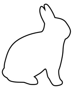Frantic Stamper Happenings: Sketch Sunday: Bunny Template