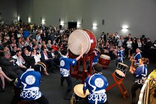 Grupo de Taiko de Registro-SP representa o Vale do Ribeira no Palácio dos Bandeirantes