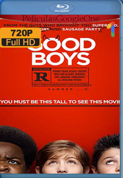 Good Boys (2019) HD 720P |[Latino-Inglés] [GoogleDrive][memo38HD]