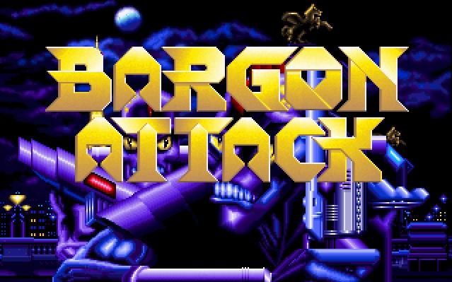 Videojuego Bargon Attack