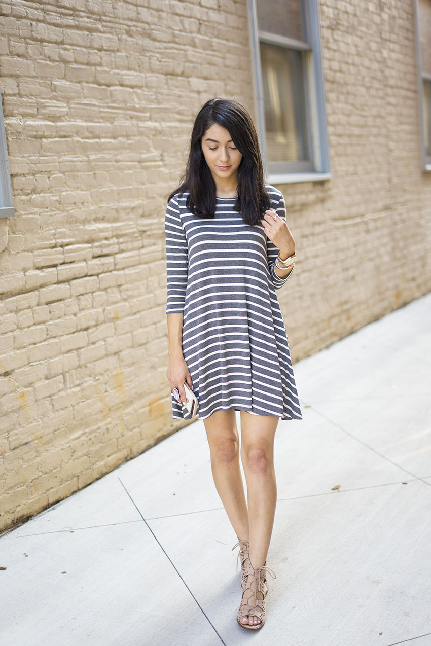 how to style a swing dress spring and summer fashion