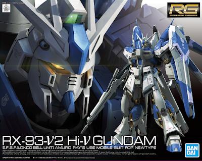RG 1/144 Hi-nu Gundam Official Images