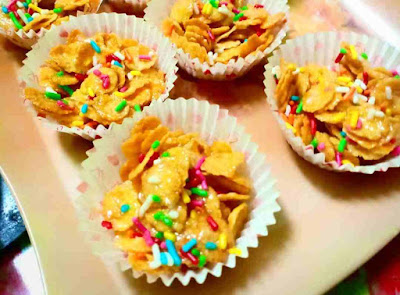 2 Resepi Cornflake Madu & Coklat Tanpa Bakar Sedap++