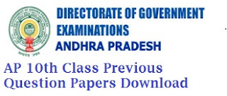 AP 10th Class Model Papers 2017