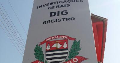 POLICIAIS CIVIS DA DIG/REGISTRO IDENTIFICAM AUTORES DO ROUBO NA DROGARIA SABRINA EM SETE BARRAS – UM JÁ FOI PRESO