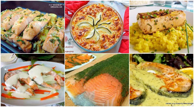 6 recetas con salmón fresco fáciles y deliciosas