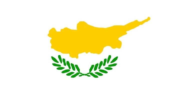 Bayrağında sarı renk olan ülkeler - Güney Kıbrıs bayrağı
