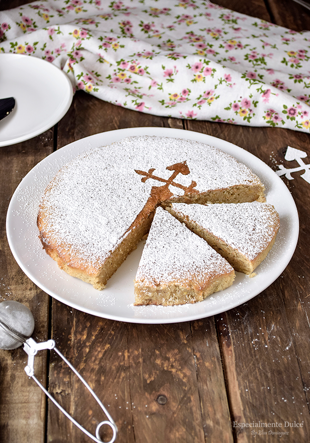 Receta tarta de santiago tradicional galicia sin gluten