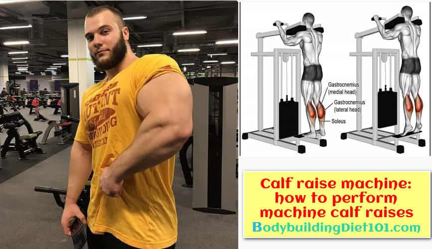 Calf raise machine: how to perform machine calf raises