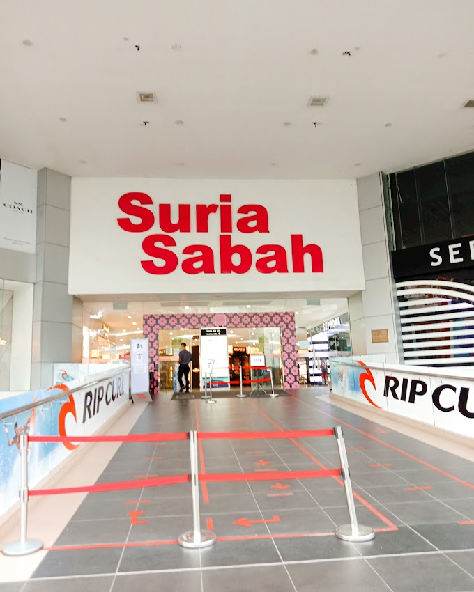 Suria Sabah Shopping Mall Trip November 2020 (39 Photos)