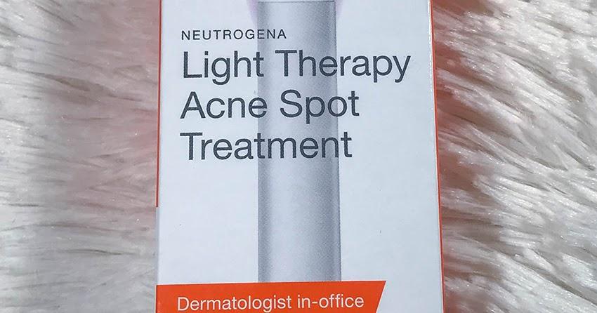 Neutrogena Light Therapy Acne Spot Treatment Frankly Kiersten