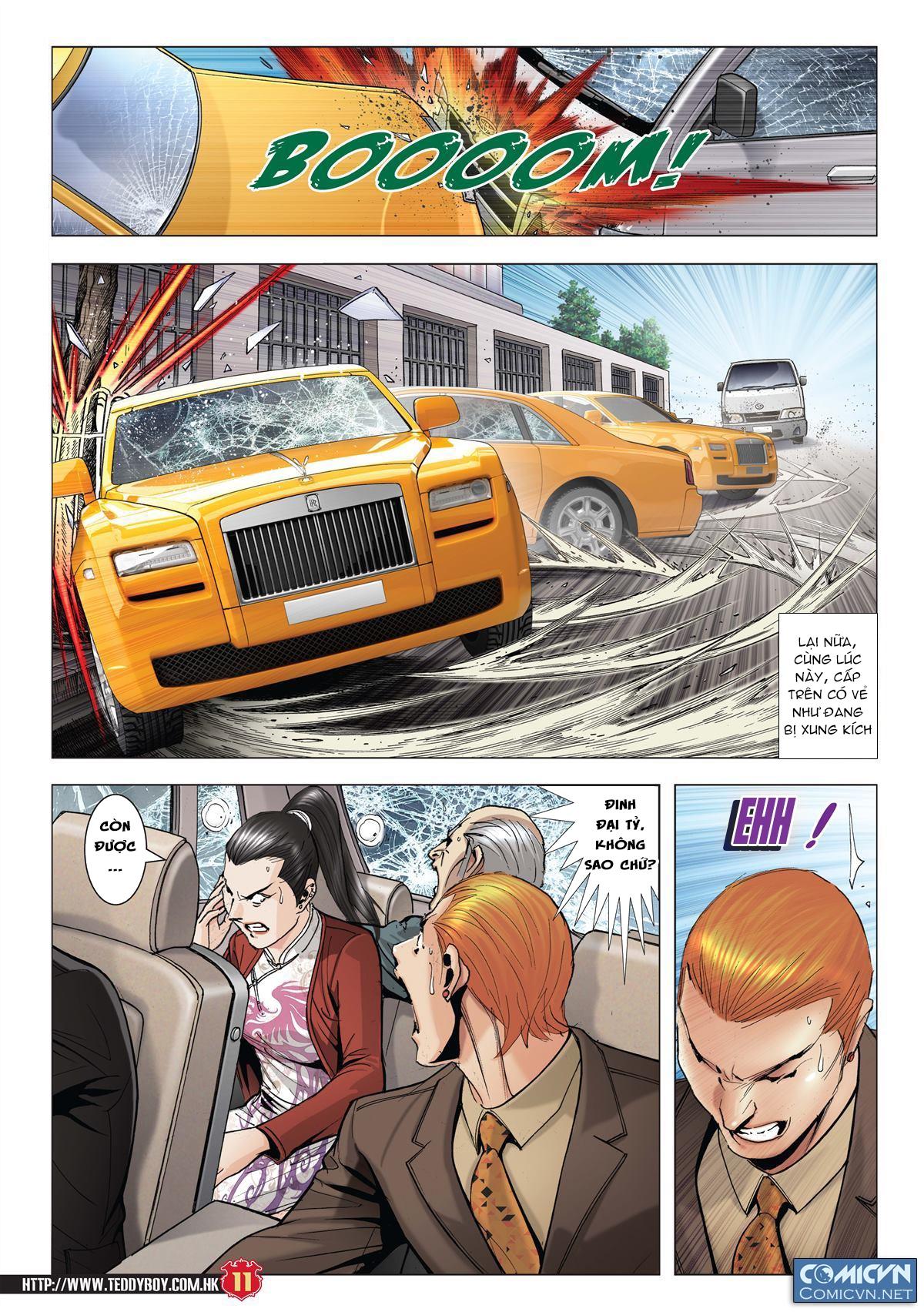 Người Trong Giang Hồ chapter 1997: triệu oánh vs đinh dao trang 9