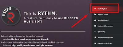 Cara menambahkan Bot Music Rythm