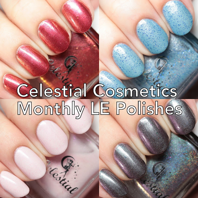 Celestial Cosmetics Monthly LE Polishes