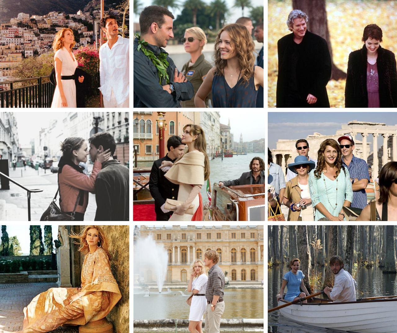 Filmes que inspiram viagens românticas