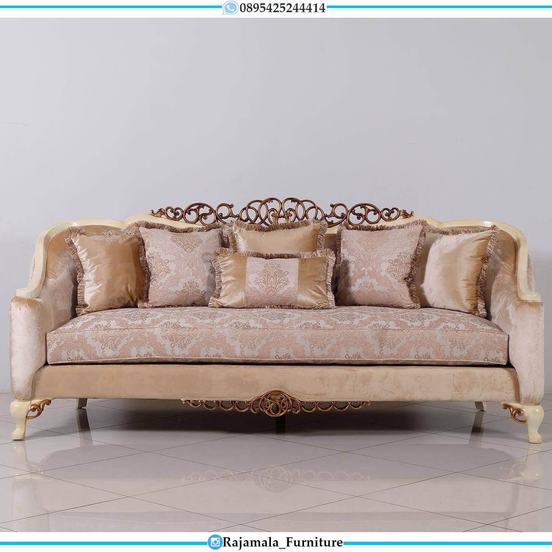 Palace Design Sofa Tamu Mewah Terbaru Italiansky Furniture Jepara RM-0498