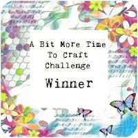 WINNER OVER AT A BIT MORE TIME TO CRAFT CHALLENGE