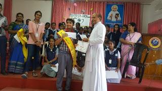 Hans Sunilkumar - District Level Spellbee Champion