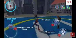 Spider man gameplay