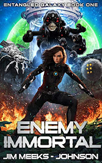 Enemy Immortal - A hard science fiction space opera by Jim Meeks-Johnson book promotion sites
