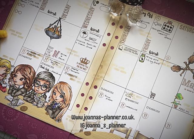 Joanna`s planner-Harry-Potter-three-broomsticks
