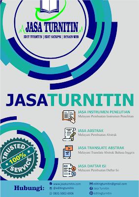 Jasa Editing Turnitin Solo Paling Murah dan Cepat 100% Berkualitas