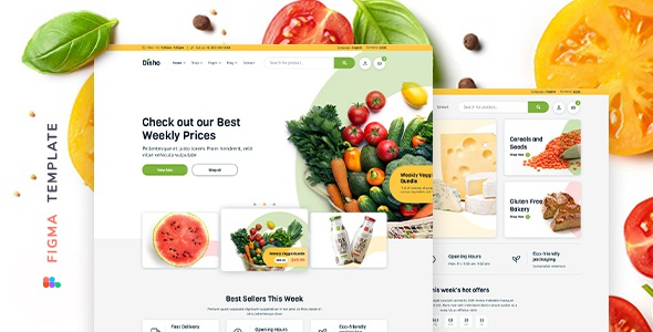 Best Grocery Store Template