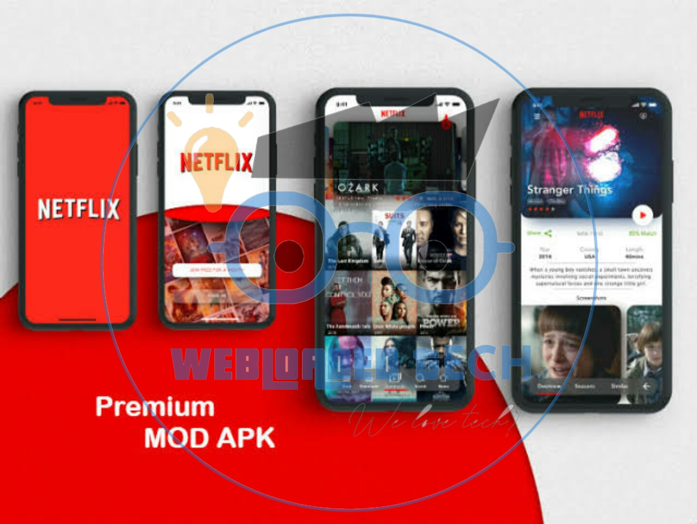 Netflix Mod Apk Latest Version, Netflix Mod APK for Android – Premium Unlocked, 4K, No ads