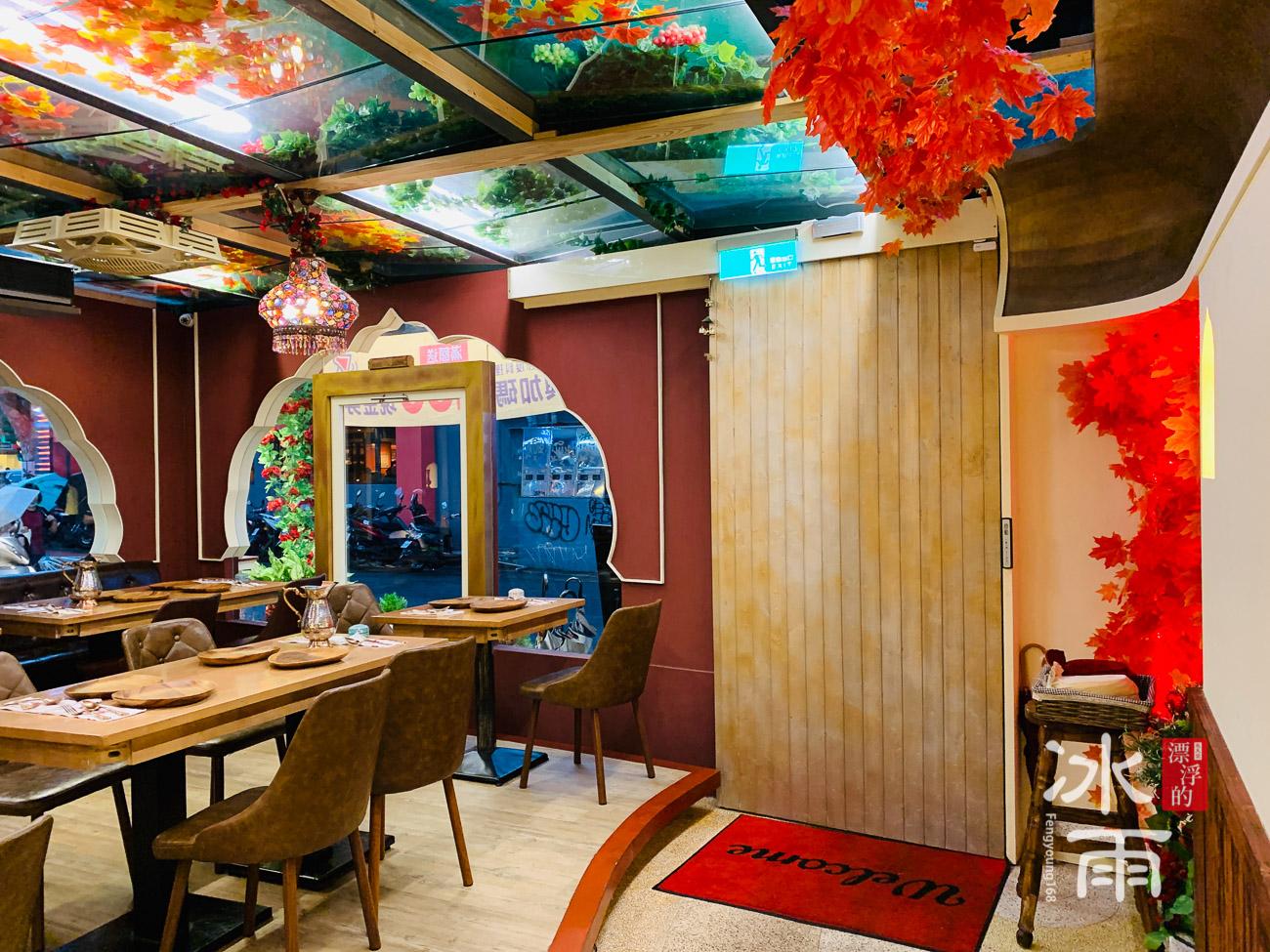 印渡風情|印度料理餐廳|大門入口背面