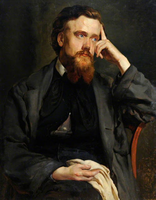William Henry Sounes, Self Portrait, Portraits of Painters, Fine arts, Henry Sounes