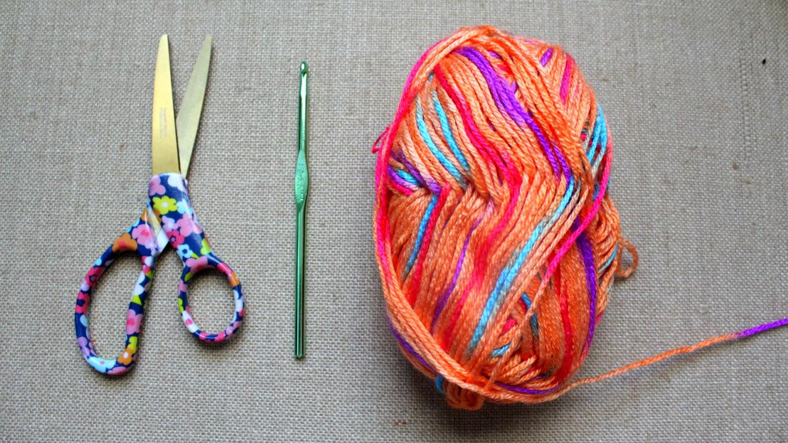The Dream Crochet Blog Diy How To Crochet A Summer Fringe