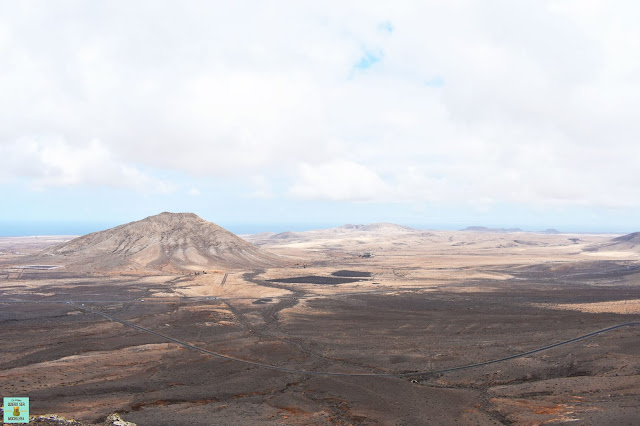Tindaya desde mirador de Vallebrón, Fuerteventura