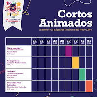 Cortos animados 1er encuentro Teatro Infantil del Teatro Libre