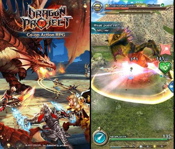 Dragon Project - Game MMORPG Tanpa Auto